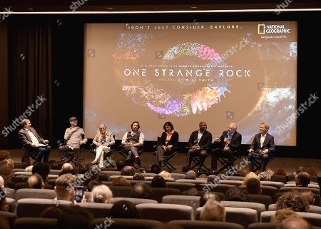 Pete Hammond, Darren Aronofsky, Jane Root, Ari Handel, Nicole Stott, Leland Melvin, Mike Massimino, Jerry Linenger