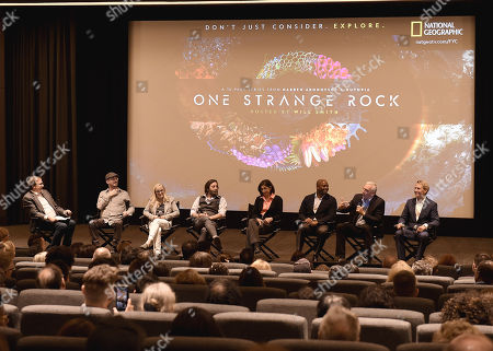 Editorial picture of National Geographic's 'One Strange Rock' FYC Event, Panel, New York, USA - 06 Jun 2018