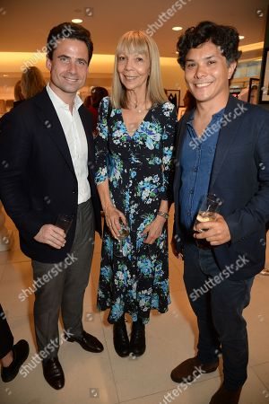 Leo Fenwick, Penelope Tree and guest