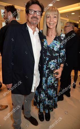 Francesco Boglione and Penelope Tree