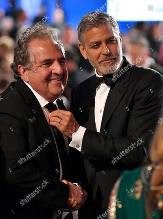 Jim Gianopulos and George Clooney