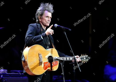 Gary Mule Deer performs during Marty Stuart's Late night Jam at the Ryman Auditorium, in Nashville, Tenn. For seventeen years, the unofficial start of one of biggest weeks for fans of country music has been Stuart's show, which precedes the four-day Country Music Association Festival