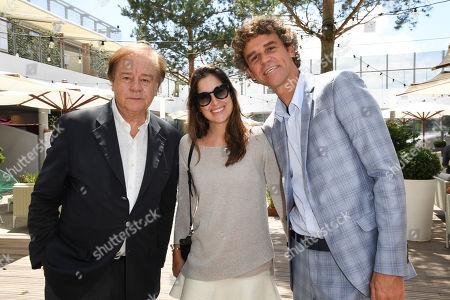 Gustavo Kuerten, Mariana Soncini and Daniel Lauclair