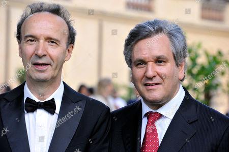 Roberto Benigni, Antonio Pappano