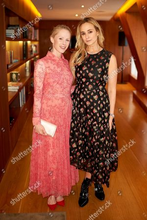 Susanne Wuest and Princess Elisabeth von Thurn und Taxis
