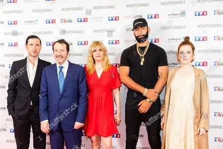 Editorial image of 'Insoupconnable' TV show premiere, Lyon, France - 07 Jun 2018