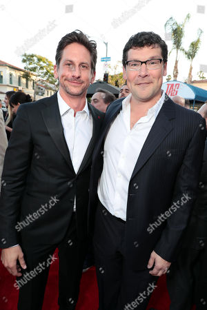 Jeff Tomsic, Director, Richard Brener, President and Chief Creative Officer, New Line Cinema,