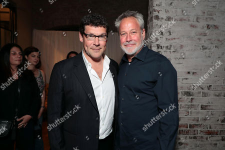 Stock Image of Richard Brener, President and Chief Creative Officer, New Line Cinema, Todd Garner, Producer,