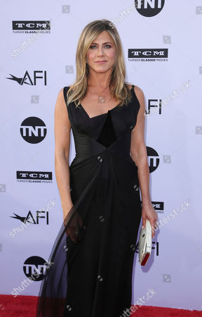 Jennifer Aniston arrives at the 46th AFI Life Achievement Award Honoring George Clooney at the Dolby Theatre, in Los Angeles