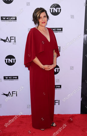 Rachel Morrison arrives at the 46th AFI Life Achievement Award Honoring George Clooney at the Dolby Theatre, in Los Angeles