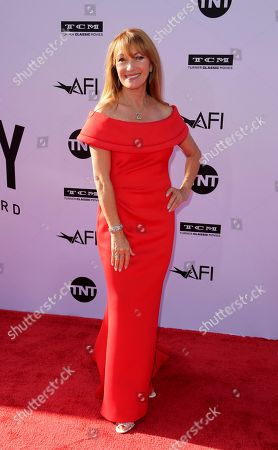 Jane Seymour arrives at the 46th AFI Life Achievement Award Honoring George Clooney at the Dolby Theatre, in Los Angeles