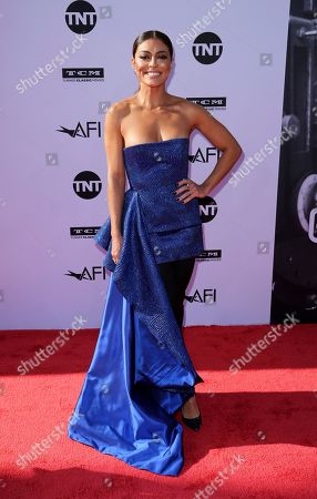 Juliana Paes arrives at the 46th AFI Life Achievement Award Honoring George Clooney at the Dolby Theatre, in Los Angeles