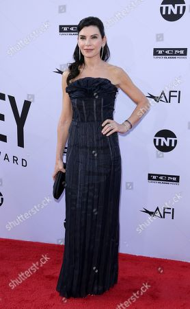 Julianna Margulies arrives at the 46th AFI Life Achievement Award Honoring George Clooney at the Dolby Theatre, in Los Angeles