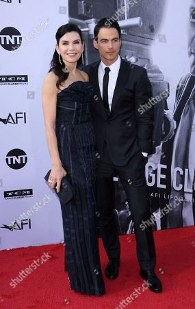 Julianna Margulies, Keith Lieberthal. Julianna Margulies, left, and Keith Lieberthal arrive at the 46th AFI Life Achievement Award Honoring George Clooney at the Dolby Theatre, in Los Angeles