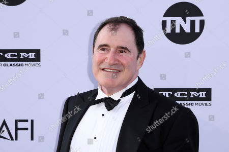 Richard Kind arrives at the 46th AFI Life Achievement Award Honoring George Clooney at the Dolby Theatre, in Los Angeles