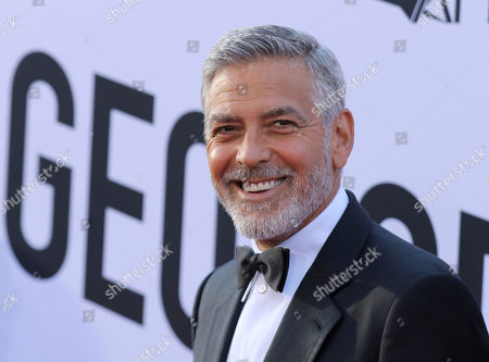 George Clooney arrives at the 46th AFI Life Achievement Award Honoring himself at the Dolby Theatre, in Los Angeles