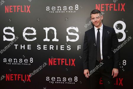 """Brian J. Smith seen at the screening of Netflix Original Series """"Sense8"""" Finale at the ArcLight Hollywood, in Los Angeles"""