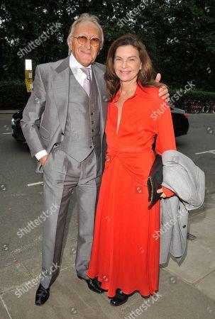 Stock Photo of Harold Tillman and Natalie Massenet