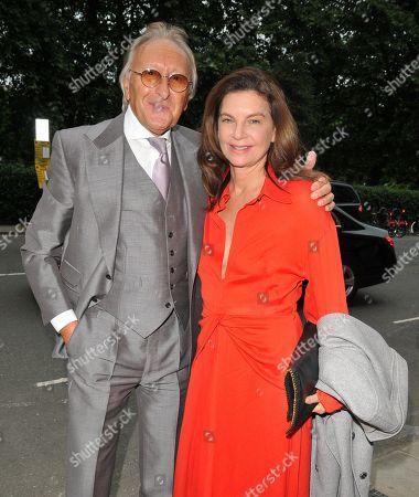 Harold Tillman and Natalie Massenet