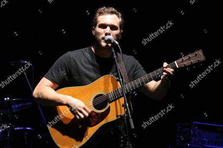 Editorial photo of Phillip Phillips in concert at the Beacon Theatre, New York, USA - 07 Jun 2018