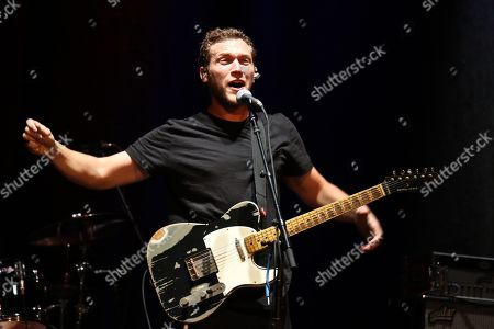 Editorial picture of Phillip Phillips in concert at the Beacon Theatre, New York, USA - 07 Jun 2018