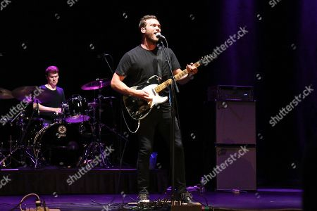 Editorial image of Phillip Phillips in concert at the Beacon Theatre, New York, USA - 07 Jun 2018