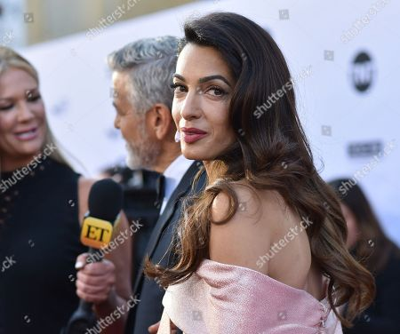 Stock Photo of Amal Clooney