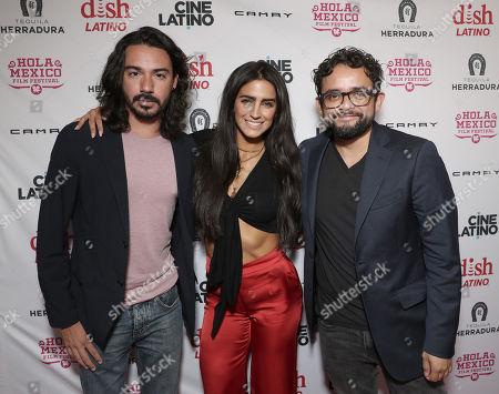 Cesar Rodriguez, Barbara de Regil and Director Noe Santillan-Lopez