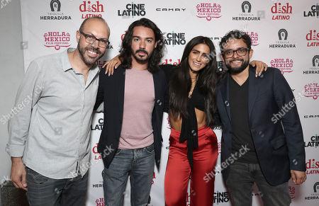 Festival Founder/Director Samuel Douek, Cesar Rodriguez, Barbara de Regil and Director Noe Santillan-Lopez
