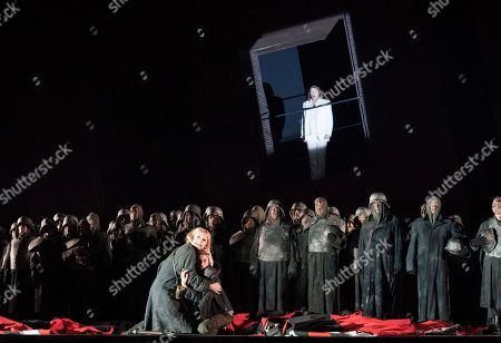 Editorial photo of 'Lohengren' Opera performed by the Royal Opera at the Royal Opera House, London, UK, 04 Jun 2018