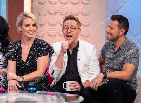 """Steps - Lee Latchford-Evans, Claire Richards and Ian """"H"""" Watkins"""