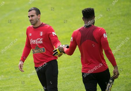 Editorial image of Peru national soccer team training camp in Schruns, Austria - 08 Jun 2018