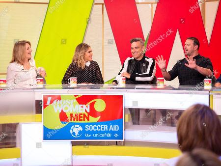 Kaye Adams, Ayda Field, Robbie Williams, Paddy McGuinness