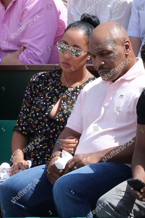 Mike Tyson and his wife Kiki Spicer