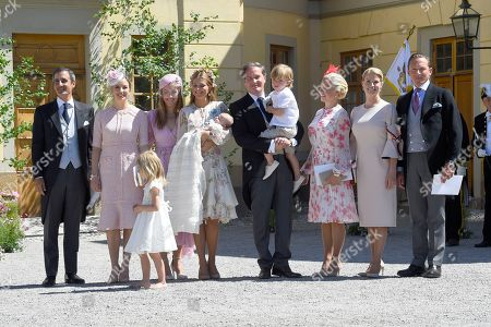 Nader Panahpour, Coralie Charriol Paul, Anouska d'Abo, Princess Madeleine, princess Adrienne, Princess Leonore, Chris O'Neill, Prince Nicolas, Charlotte Kreuger Cederlund, Natalie Werner, Gustav Thott