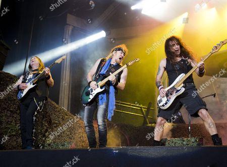 Iron Maiden - Dave Murray, Adrian Smith and Steve Harris