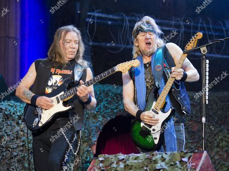 Iron Maiden - Dave Murray and Adrian Smith