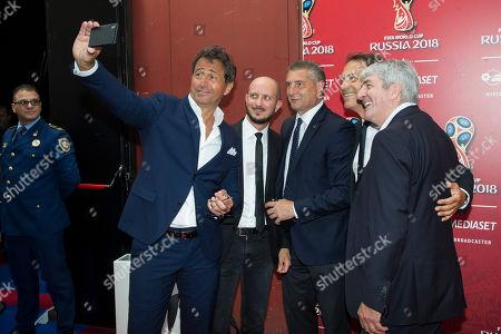 Riccardo Ferri, Daniele Massaro, Paolo Rossi