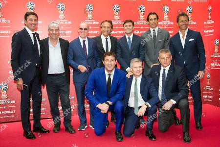 Editorial photo of Mediaset FIFA World Cup TV Show press conference, Milan, Italy - 07 Jun 2018