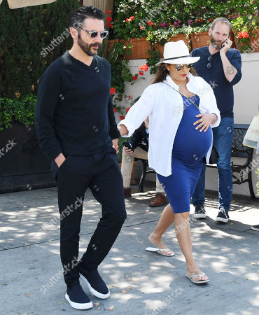 Editorial image of Eva Longoria and Jose Baston out and about, Los Angeles, USA - 07 Jun 2018
