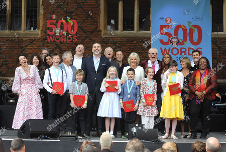 Editorial image of '500 Words' Final, Hampton Court Palace, London, UK - 08 Jun 2018