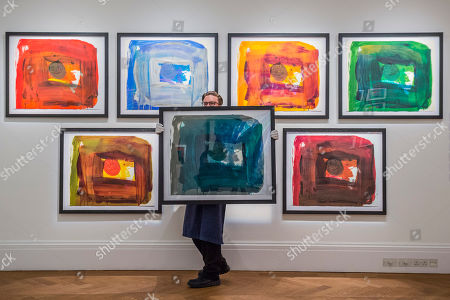 The 'For Alan' Series, part of Working on Paper by Howard Hodgkin, est £15-7,000 each