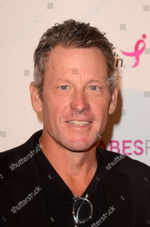 Stock Picture of Lance Armstrong