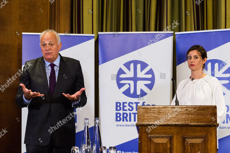 Editorial picture of Best for Britain 'Stop Brexit' roadmap launch, London, UK - 08 Jun 2018