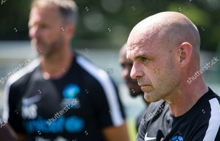 Danny Murphy trains at Motspur Park training ground with World XI