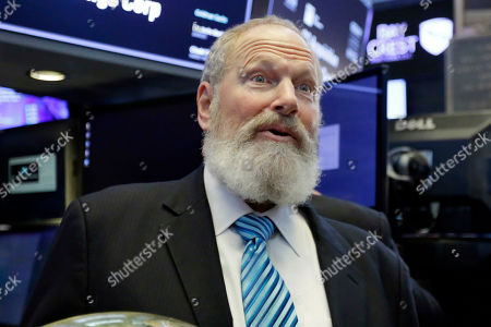 GS Acquisition Holdings Corp. CEO David Cote is photographed on the floor of the New York Stock Exchange