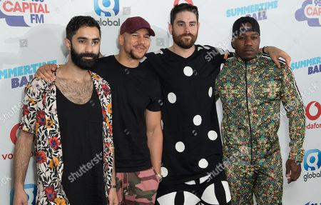 Amir Amor, Kesi Dryden, Piers Agget and Leon ' DJ Locksmith ' Rolle - Rudimental