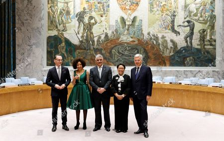 Editorial picture of Election of Five Non-Permanent Members of UN Security Council, New York, USA - 08 Jun 2018