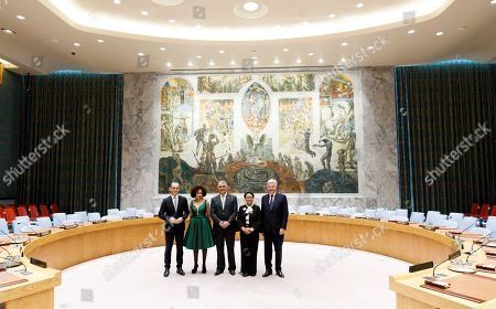 Editorial image of Election of Five Non-Permanent Members of UN Security Council, New York, USA - 08 Jun 2018