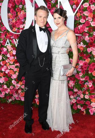 Stock Photo of Jamie Parker and Deborah Crowe